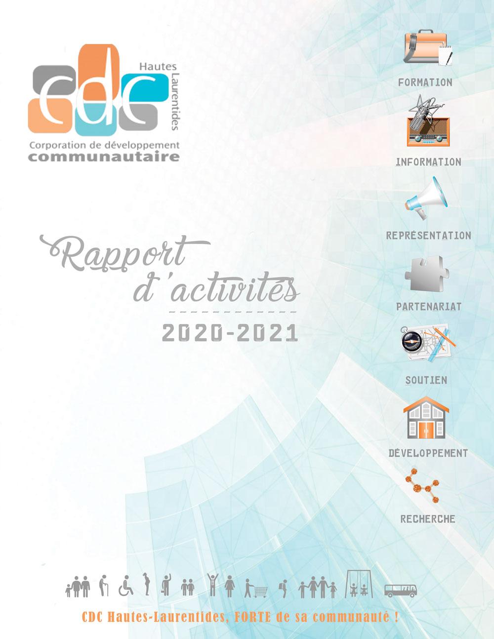 Rapport annuel 2020-2021 de la CDC H-L